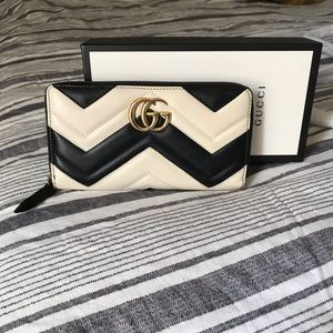 Gucci Mormont zippy wallet